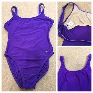 Nike purple one piece swimsuit size 16